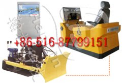 Comprehensive training system for bulldozer