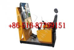 Operating teaching instrument for rotary drilling rig
